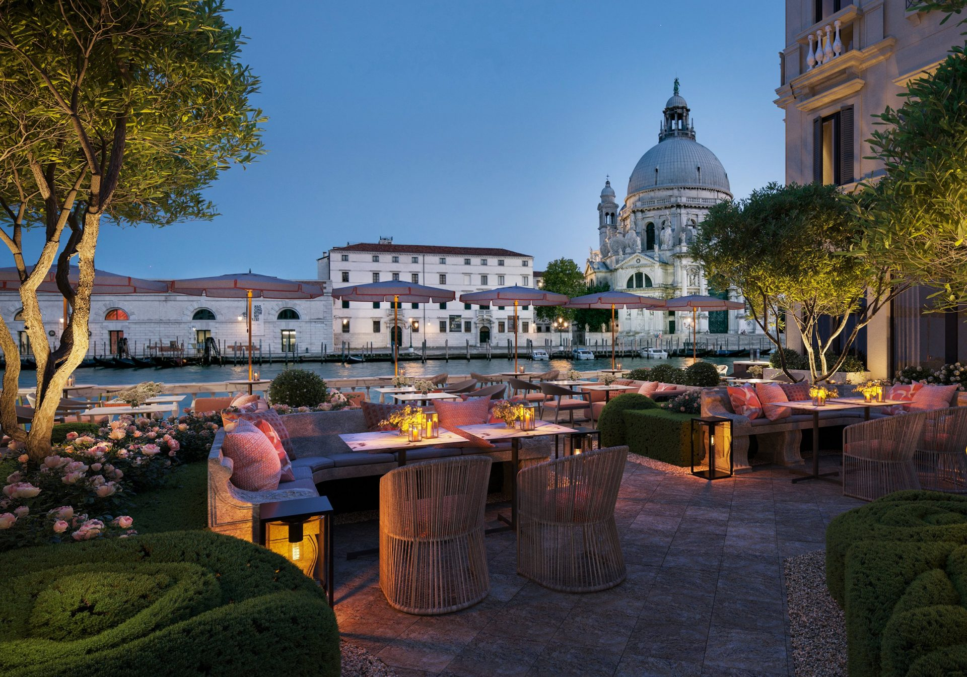 The St. Regis Venice garden terrace