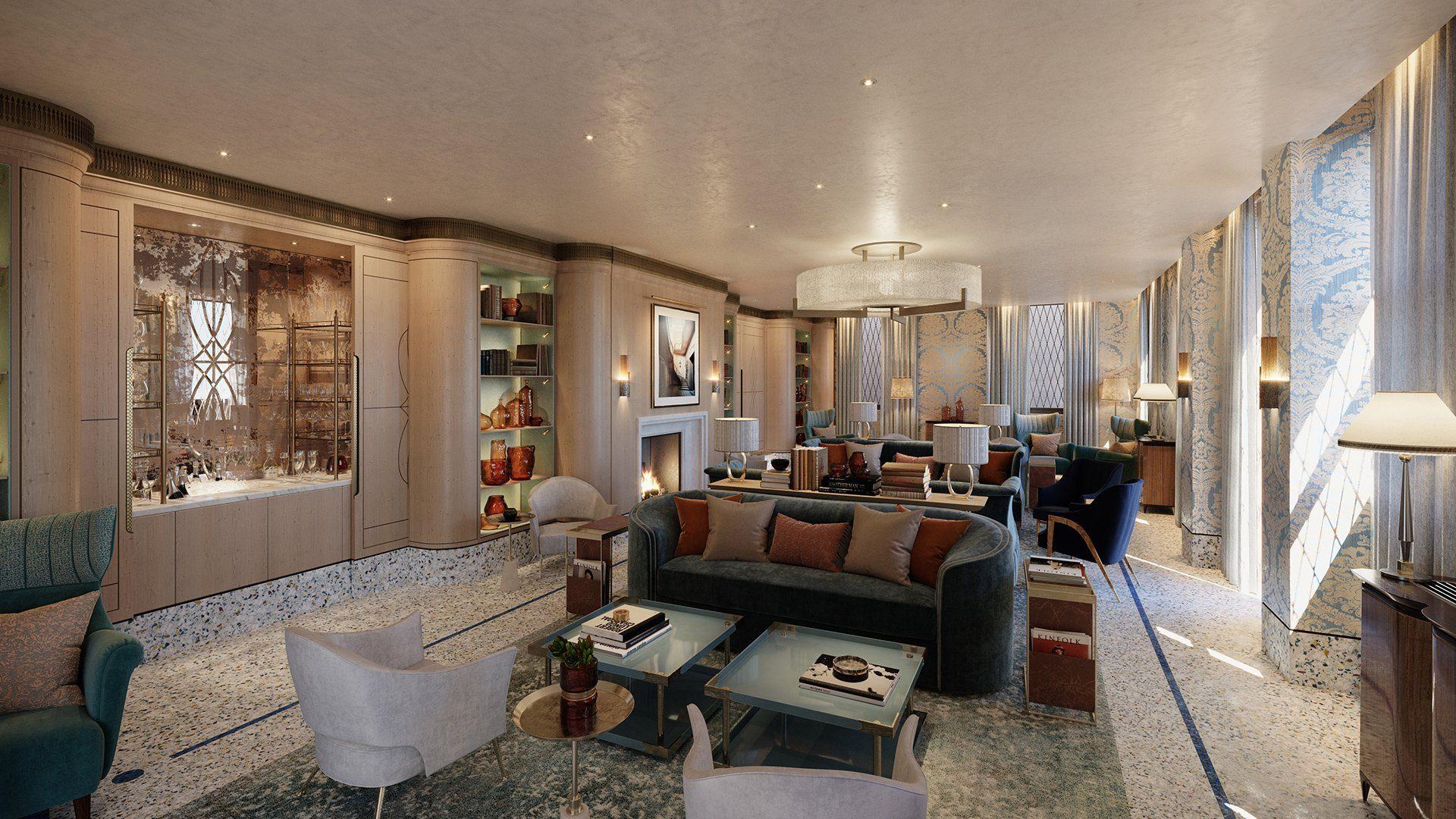 The St. Regis Venice lounge