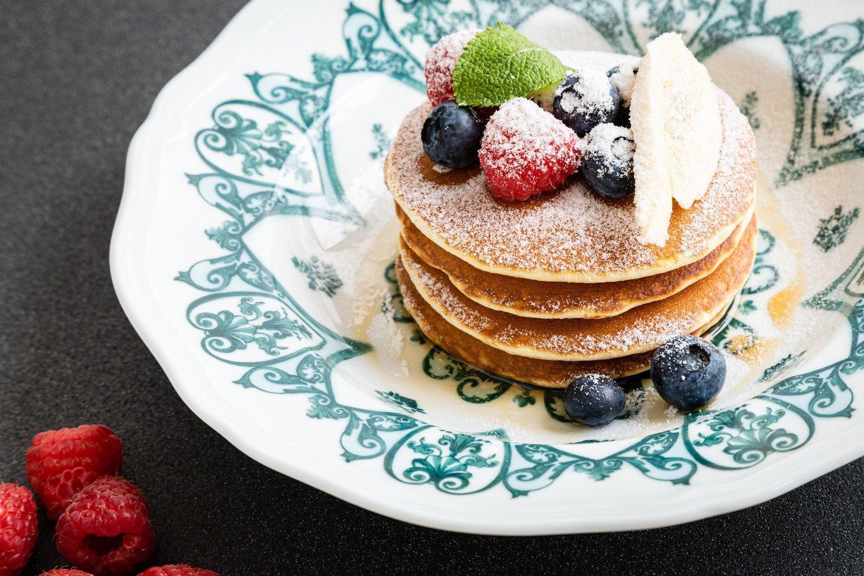 The St. Regis Venice pancakes
